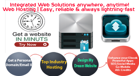 get a website in minut